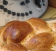 Thermomix plaited bread.