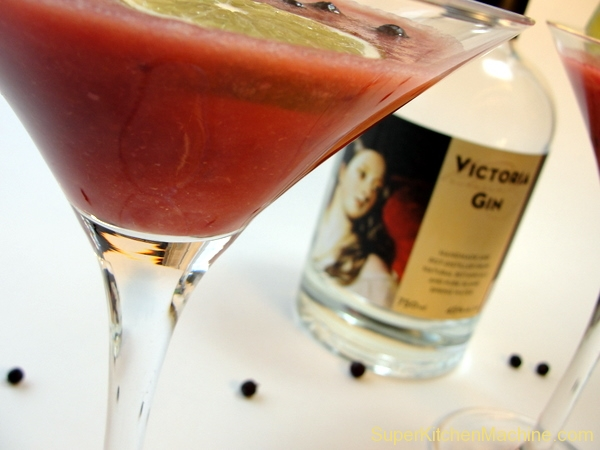 The blushing buck cocktail recipe thermomix super for Cocktail thermomix