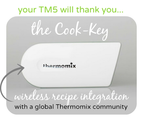 Thermomix TM5 cook key
