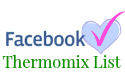 New Thermomix recipes on facebook