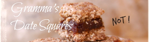 Not Grammas Date Square Recipe
