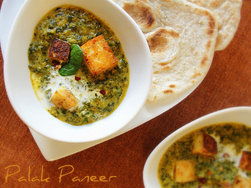 Palak Paneer Thermomix Recipe