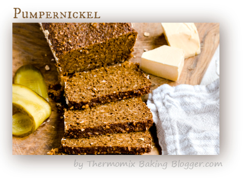 Thermomix pumpernickel bread recipe