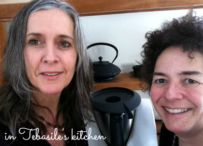 Tebasile and Helene, two Thermomix bloggers
