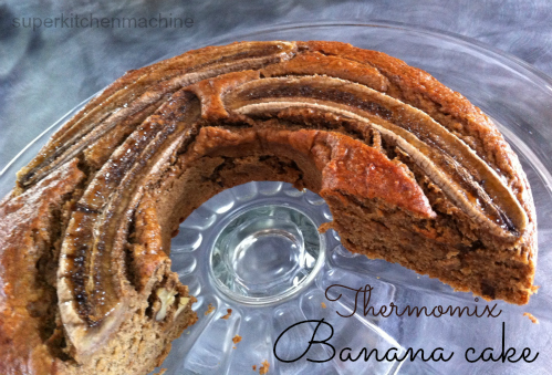 Tebasile's Kitchen Thermomix banana cake.