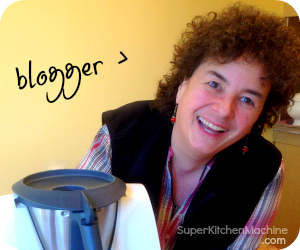 Helene Meurer is a Canadian Food blogger about Thermomix at SuperKitchenMachine