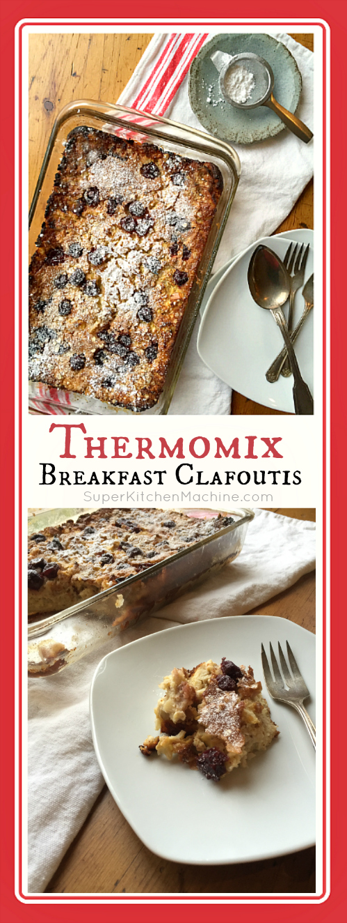 Clafoutis recipe made with Thermomix tm5