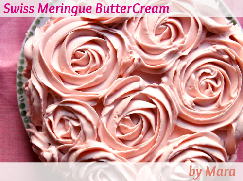 Swiss Meringue Buttercream Icing with Thermomix