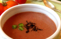 Thermomix gazpacho with Lapsang Souchong
