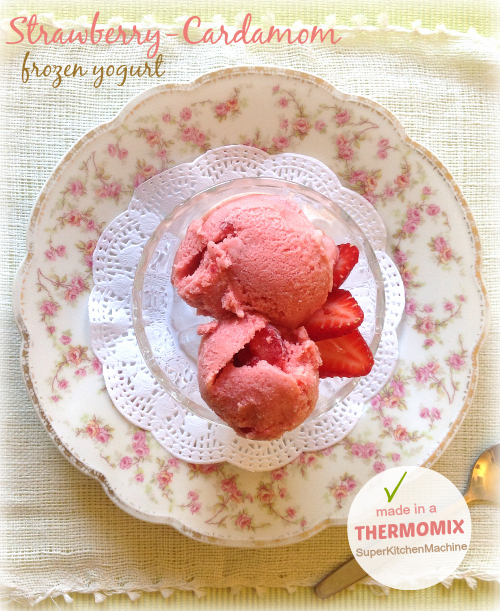 Thermomix Strawberry Dessert