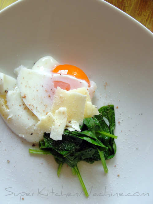 Cook poached eggs in Thermomix