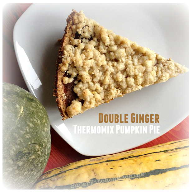double Ginger Thermomix Pumpkin Pie