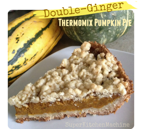 Thermomix pumpkin pie
