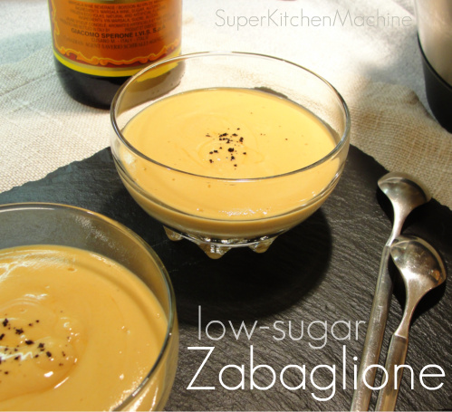 Easy lower-sugar Zabaglione (Sabayon) - Thermomix Super Kitchen ...